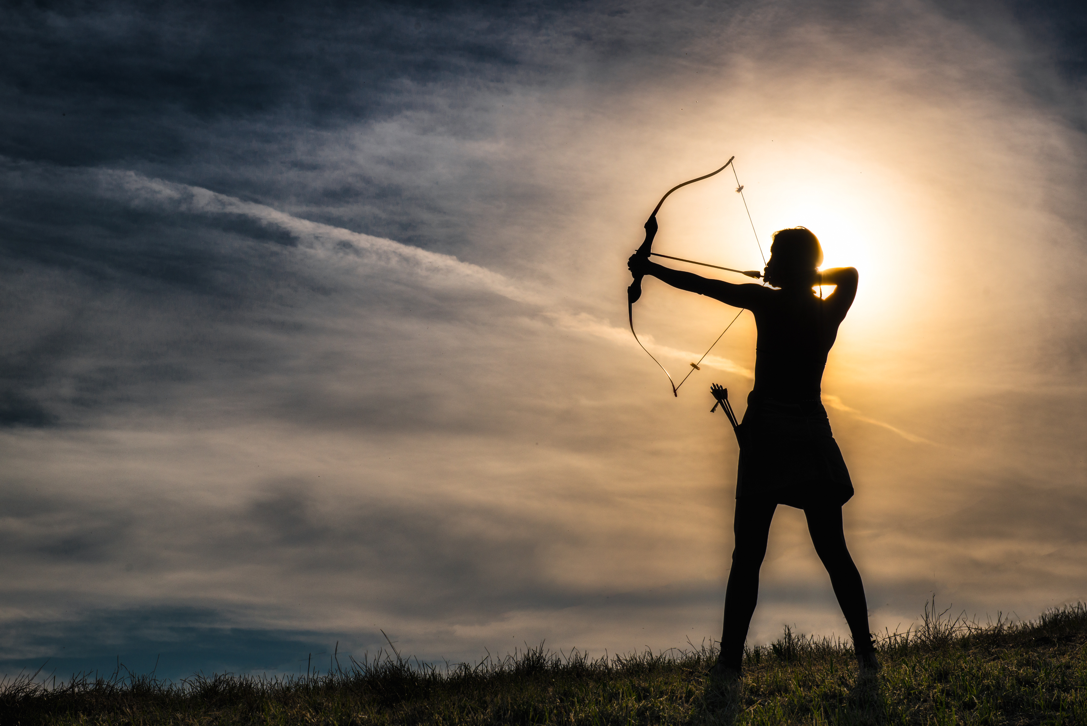 Стрелец мужчина постановка целей